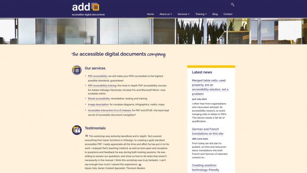 Screen Capture of Accessible Digital Documents