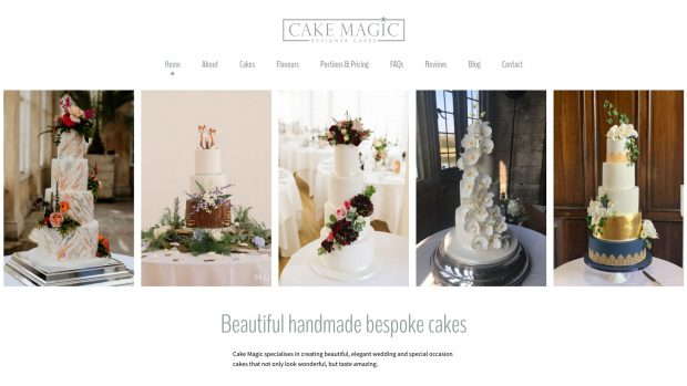 Screen Capture of Cake Magic